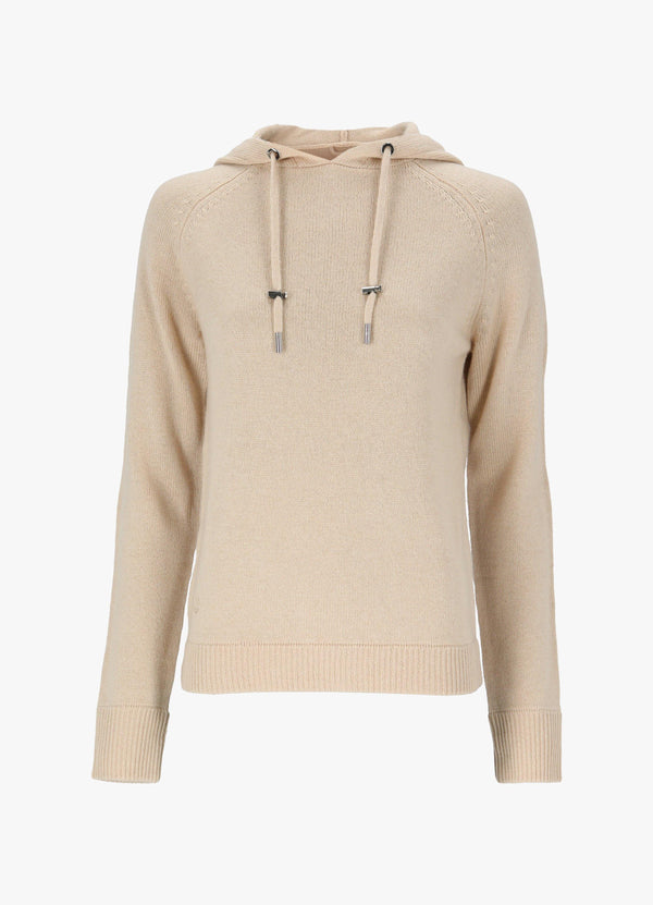 MAX & MOI HOODED JUMPER Knitwear 300027816