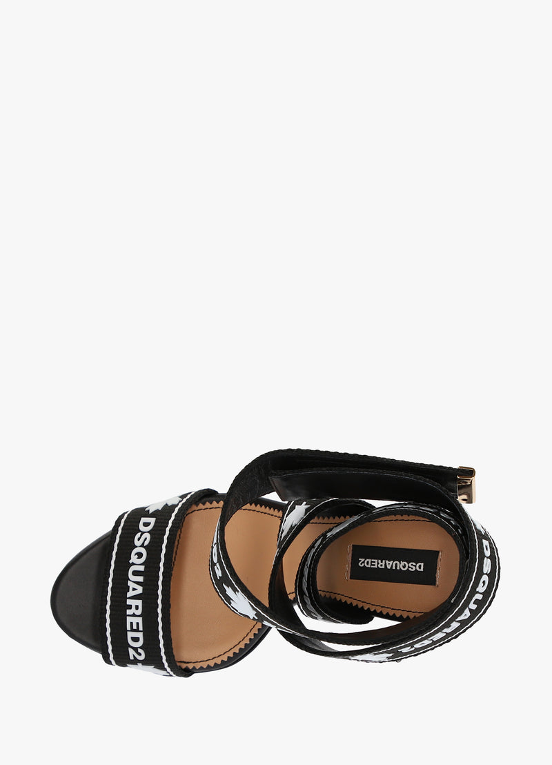 DSQUARED2 HEELED SANDALS
