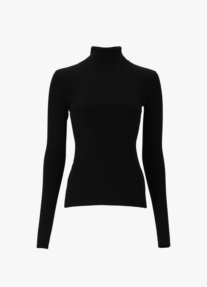 JOSEPH TURTLENECK STRETCH KNIT Knitwear 300023714