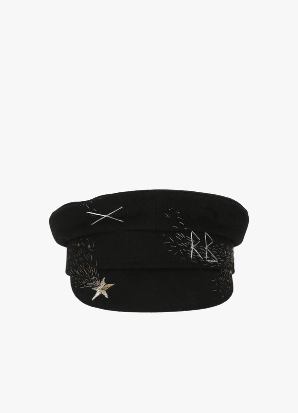 STARS EMBROIDERED CAP