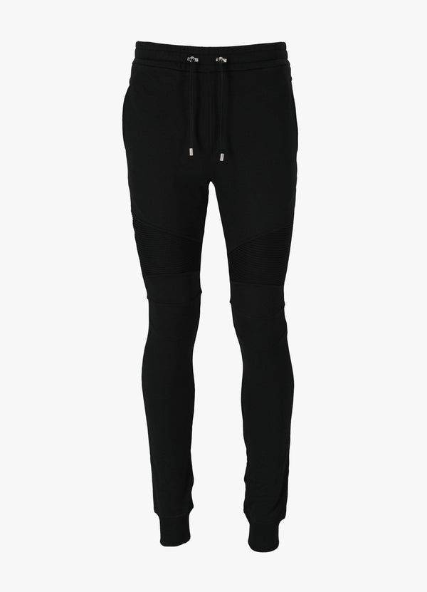 BALMAIN ECO DESIGN FLOCK SWEATPANTS Trousers 300026363