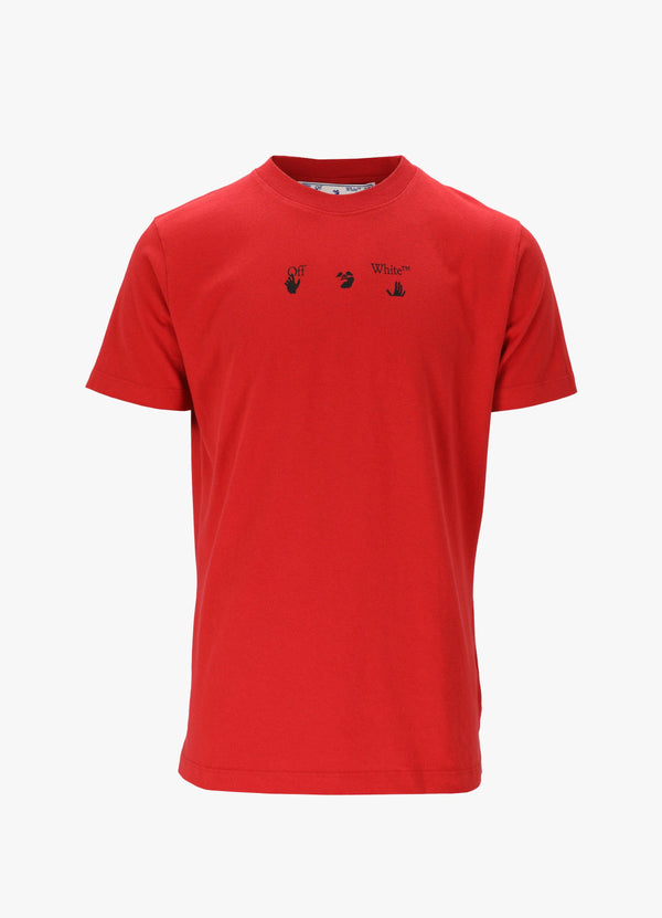 RED MARKER SLIM TEE