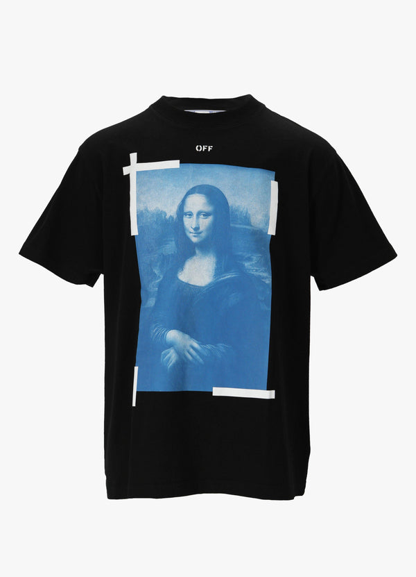 OFF-WHITE MONALISA OVER TEE T-Shirts 300027303