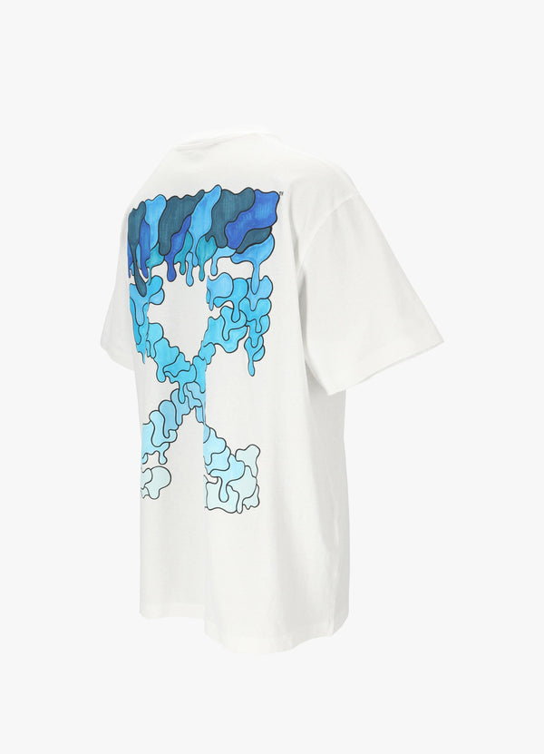 BLUE MARKER OVER TEE