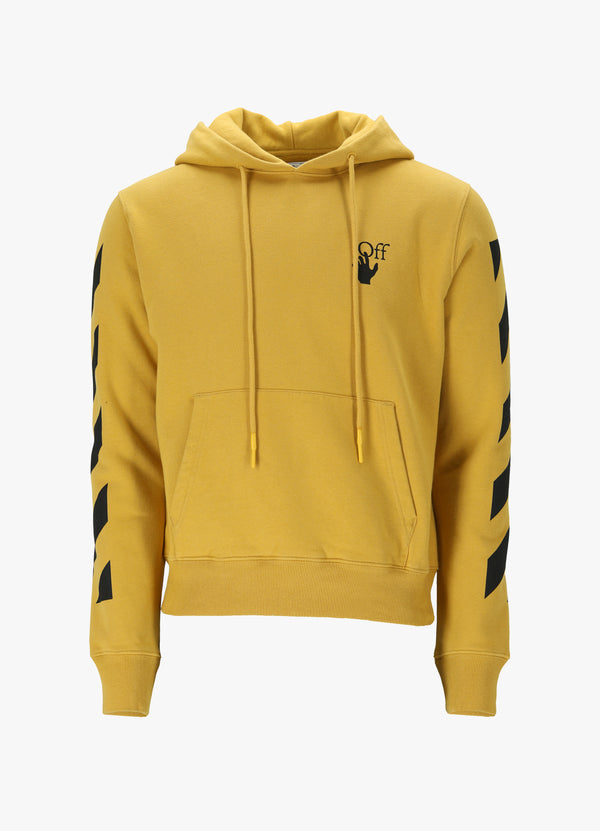 OFF-WHITE DIAG AGREEMENT HOODIE Sweatshirts 300018906