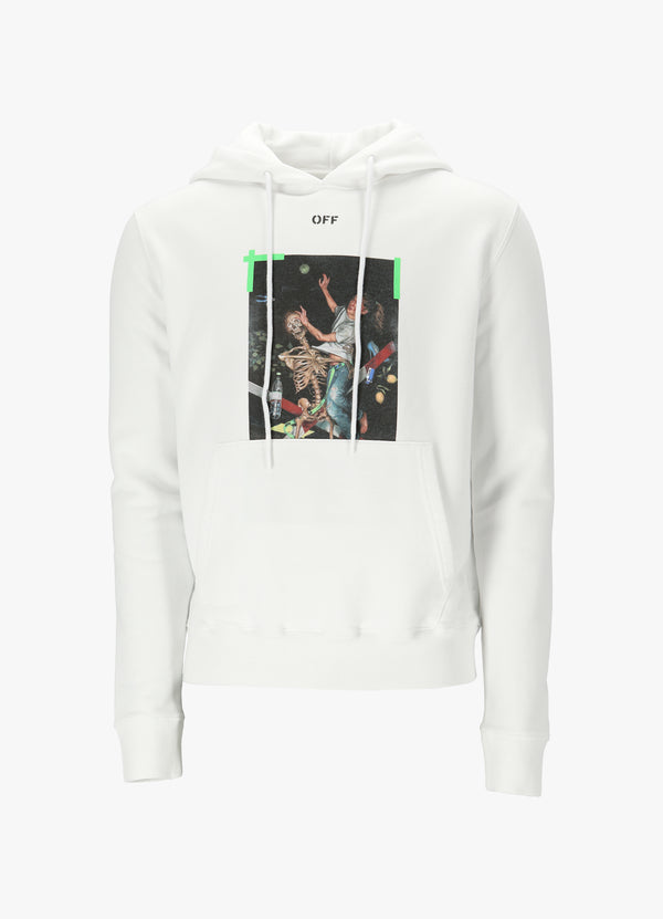 OFF-WHITE PASCAL PRINT HOODIE