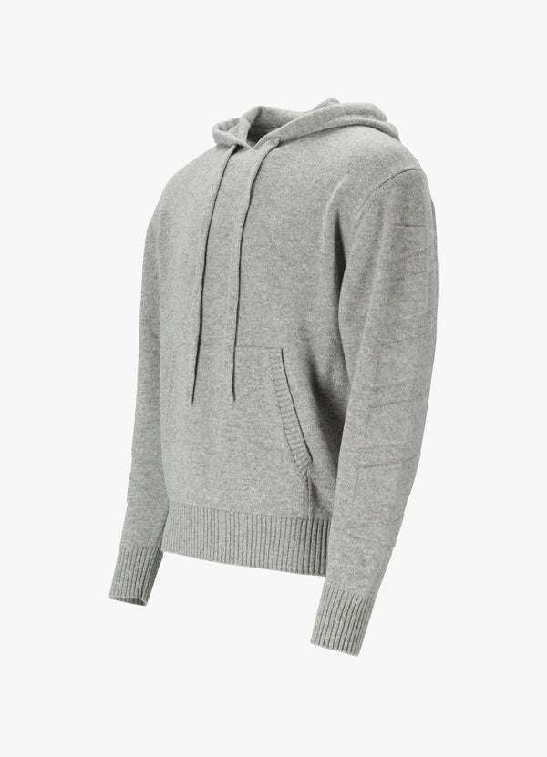 OFF-WHITE DIAG HOODED SWEATER