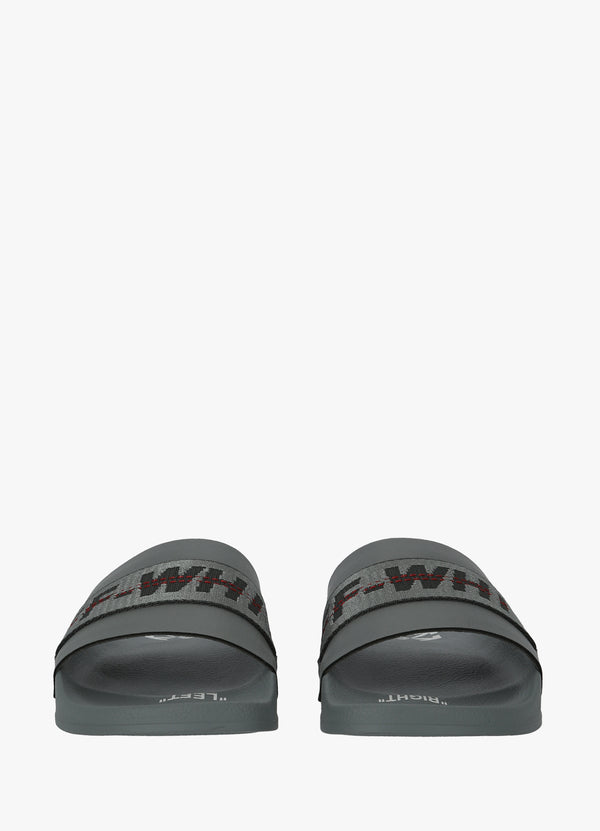 OFF-WHITE INDUSTRIAL SLIDERS