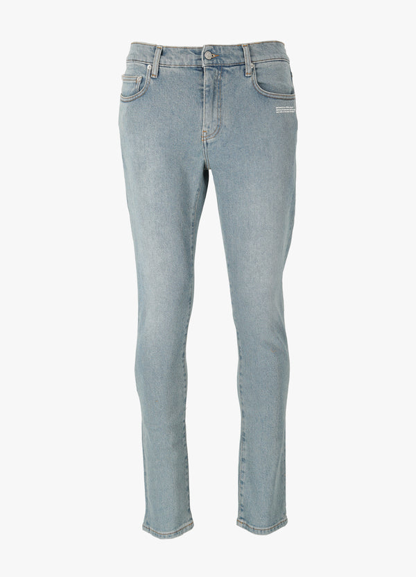 OFF-WHITE DIAG POCKET SKINNY JEANS Jeans 300018976