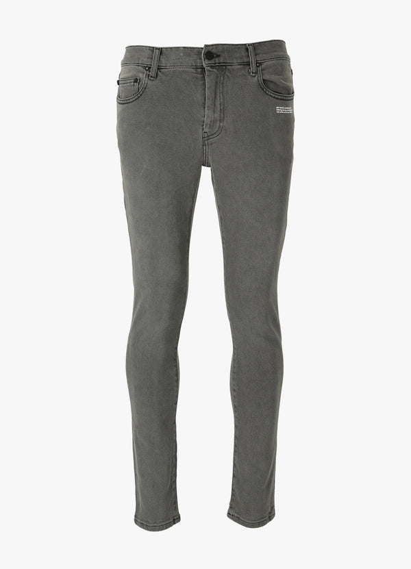 OFF-WHITE DIAG POCKET SKINNY JEANS Jeans 300018985