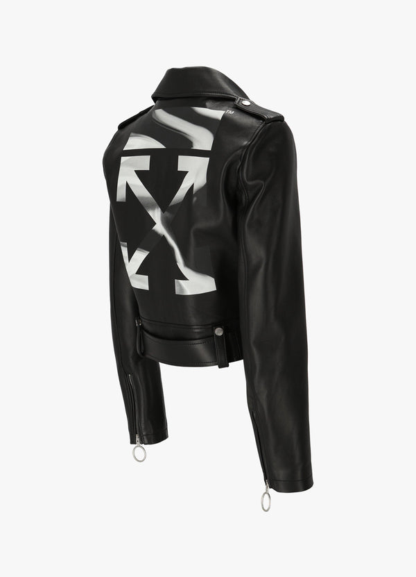 Off-White Regular Biker Jacket OWJG002 R21LEA001