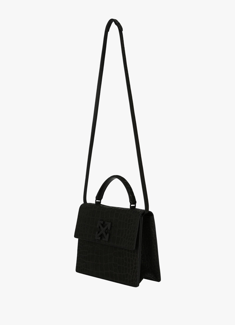OFF-WHITE 2.8 CROC EFFECT JITNEY BAG