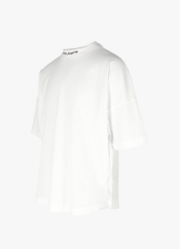 DOUBLE LOGO OVERSIZED TEE
