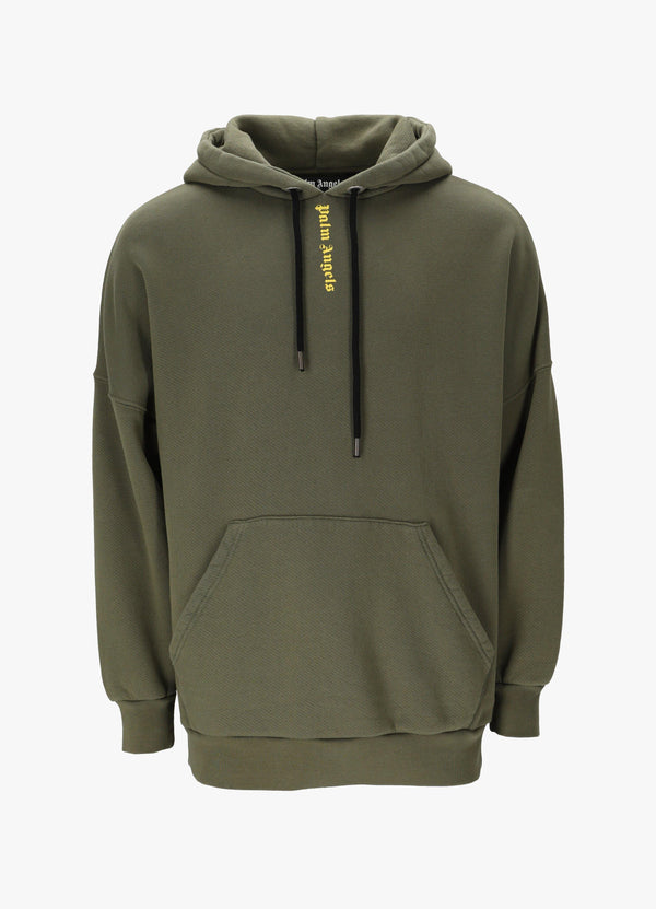 LOGO OVER HOODIE