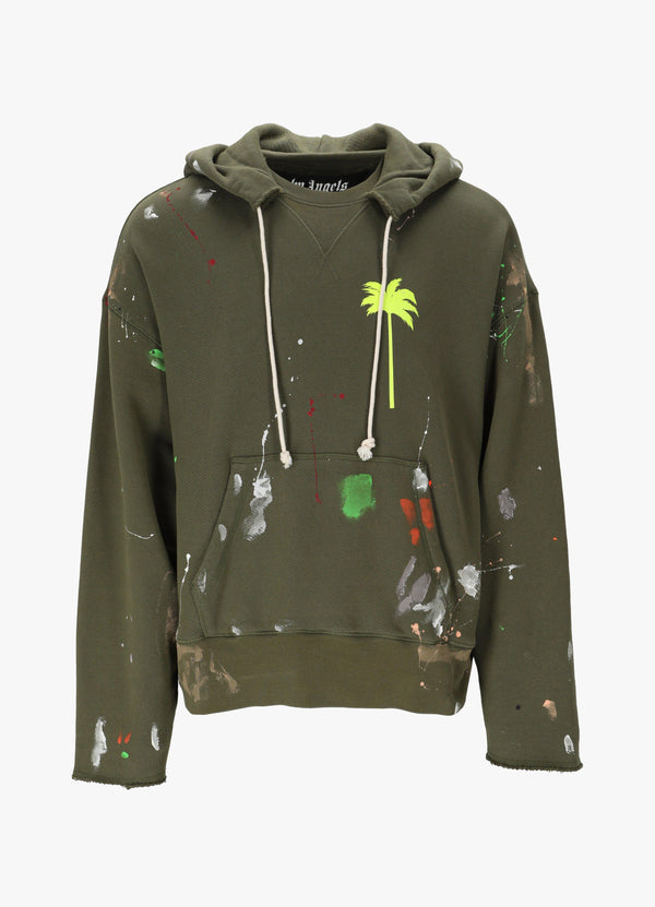 PAINTED RAW CUT HOODIE