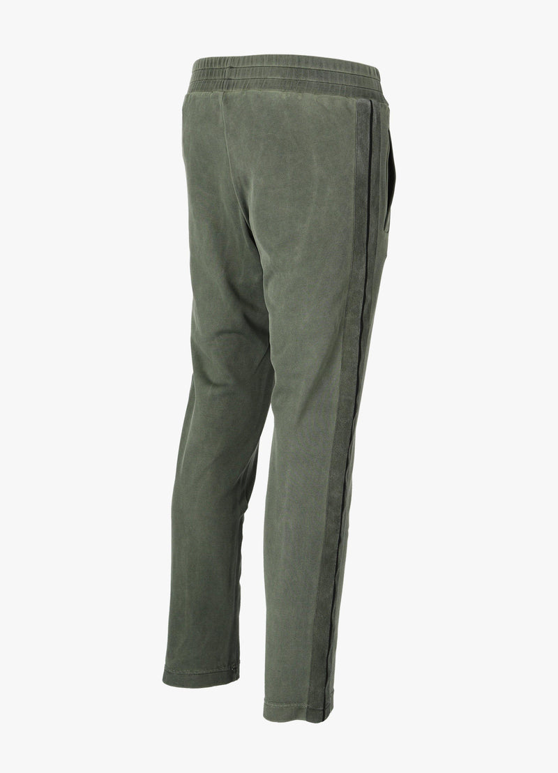 PALM ANGELS SLIM GARMENT DYED TRACK PANTS