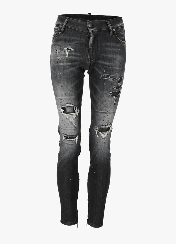 DSQUARED2 MEDIUM WAIST SKINNY JEANS Jeans 300018718