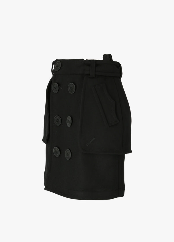 DSQUARED2 TRENCH SKIRT