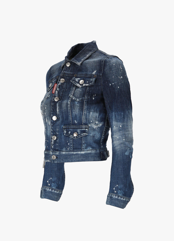 Dsquared2 Classic Denim Jacket S75AM0822 S30342