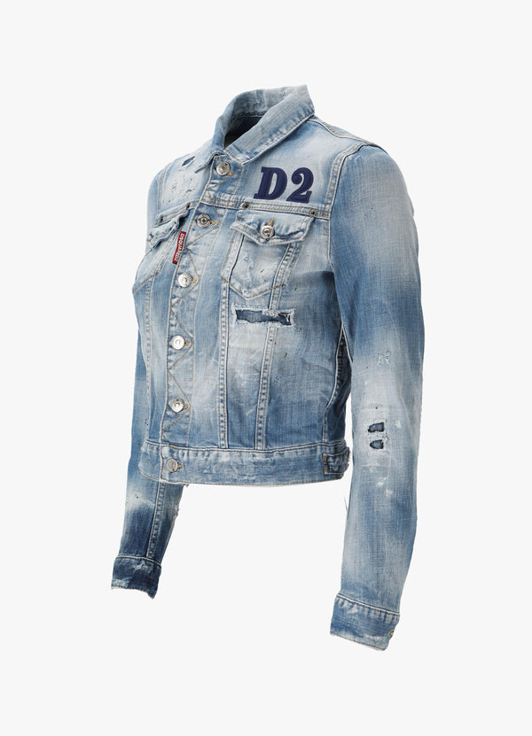 Dsquared2 Classic Denim Jacket S75AM0825 S30342