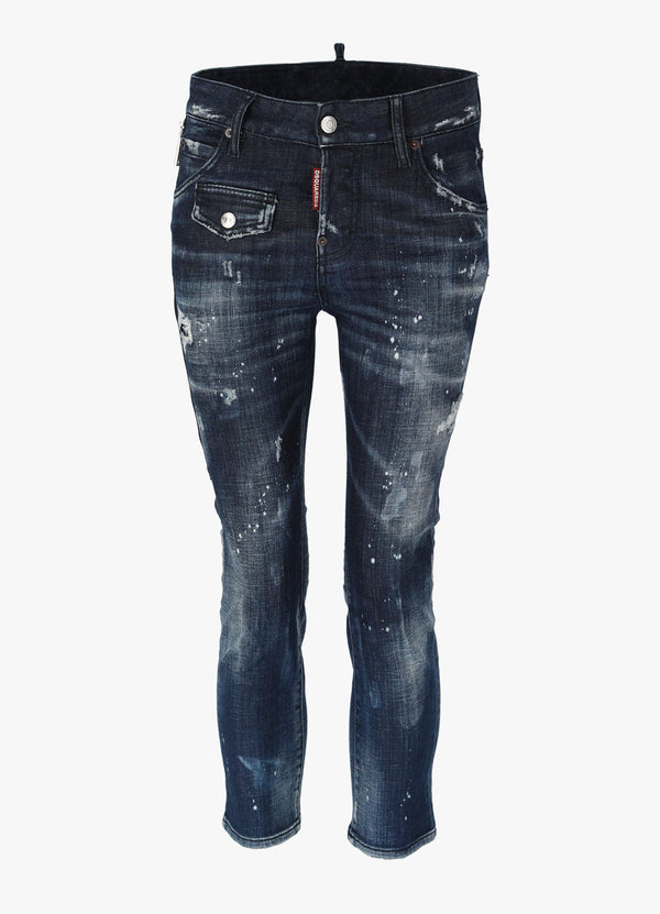 DSQUARED2 COOL GIRL CROP JEANS Jeans 300029276