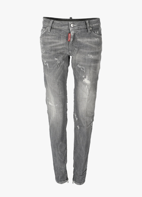 DSQUARED2 SKINNY MIDDLE WAIST JEANS Jeans 300030690