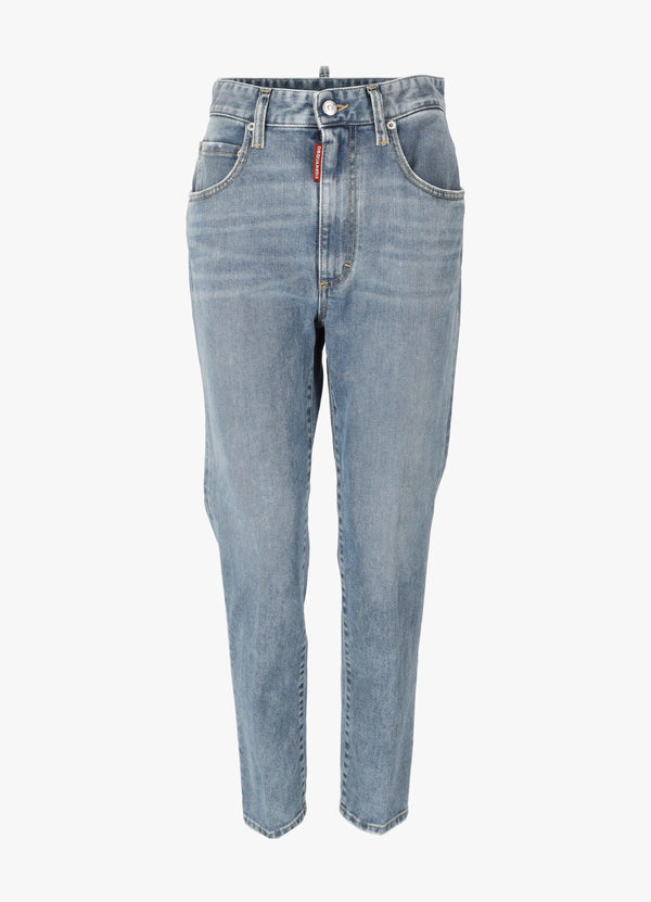 DSQUARED2 CROPPED HI-TWIGGY JEANS Jeans 300030695
