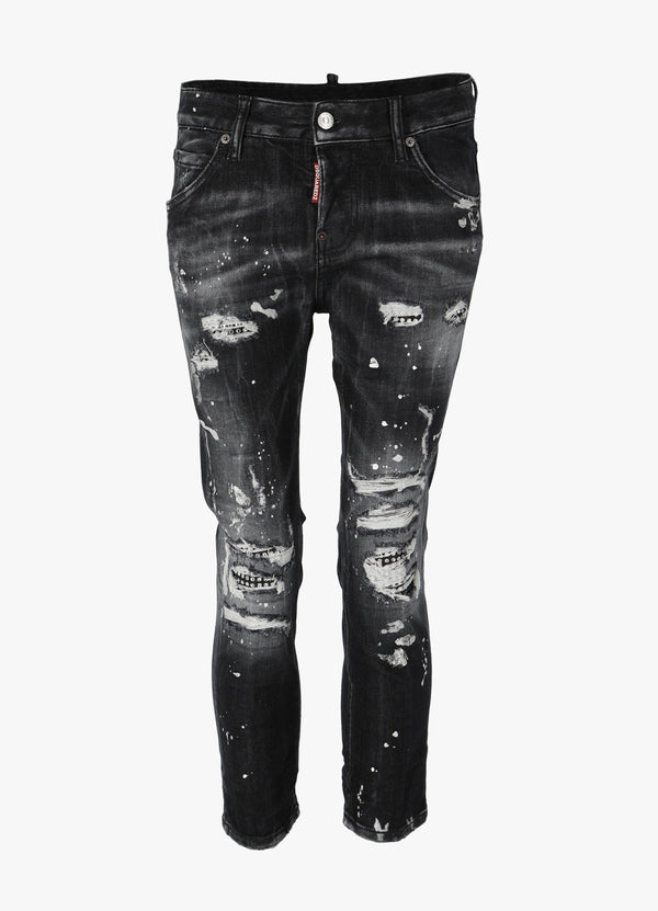 DSQUARED2 COOL GIRL CROPPED JEANS Jeans 300030707