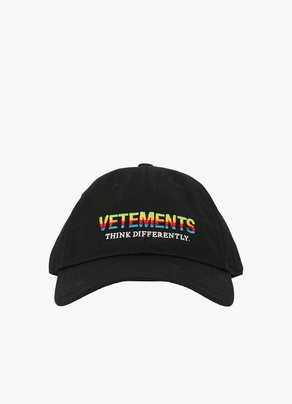 VETEMENTS THINK DIFFERENTLY CAP Hats 300031504