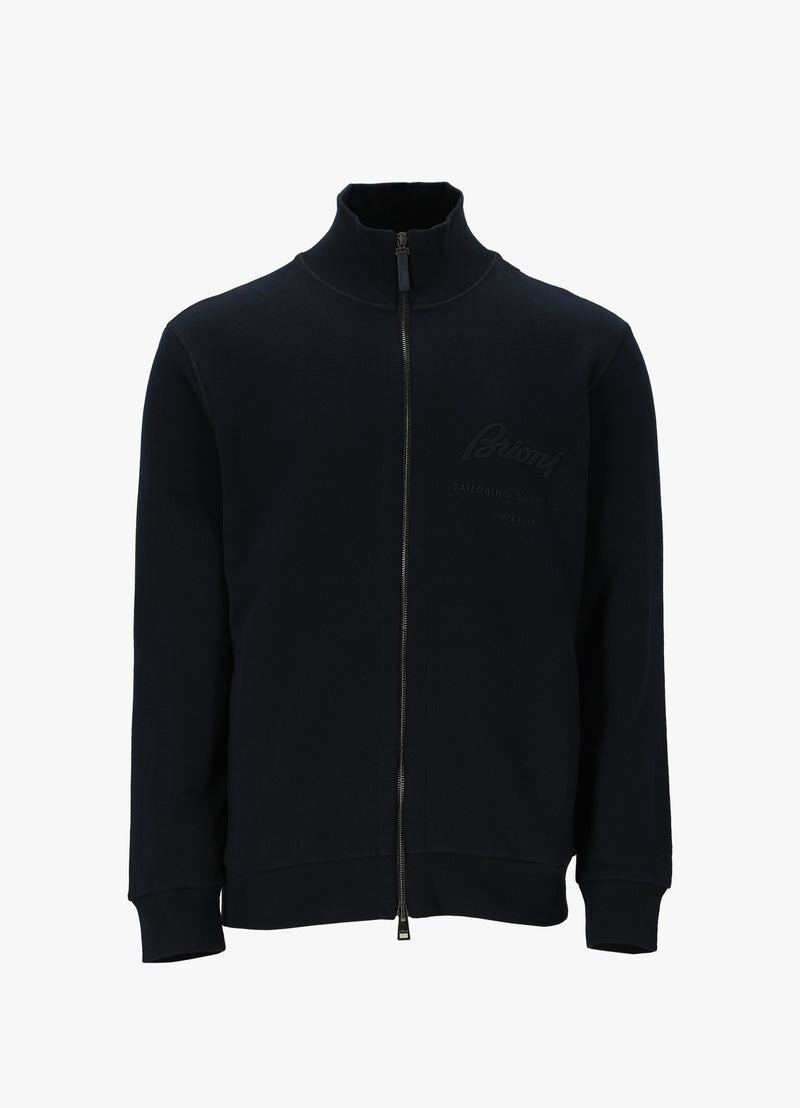 BRIONI FULL ZIP UP BLOUSON Sweatshirts 300020174