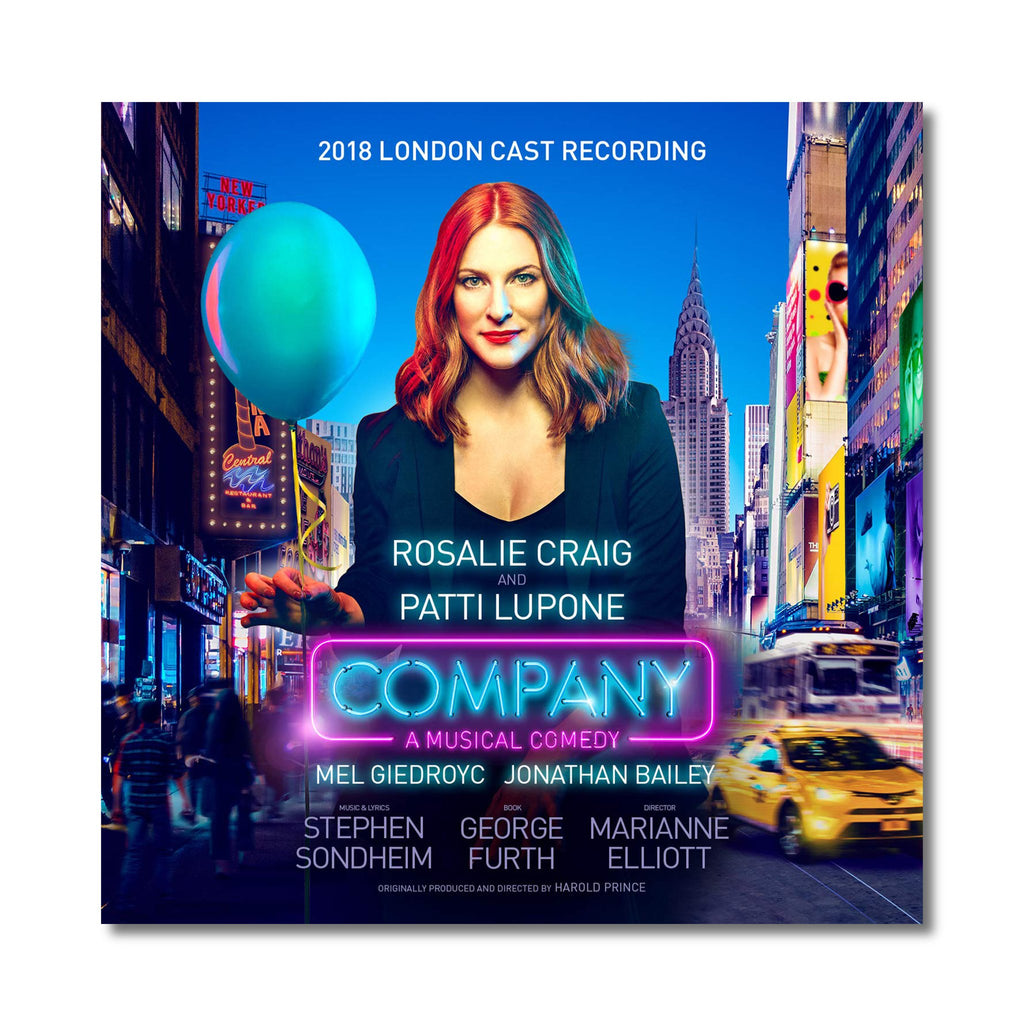 COMPANY 2018 London Cast Album CD