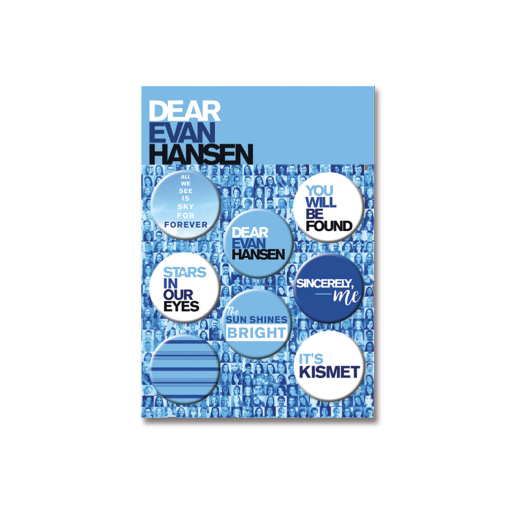 DEAR EVAN HANSEN 8 Button Set