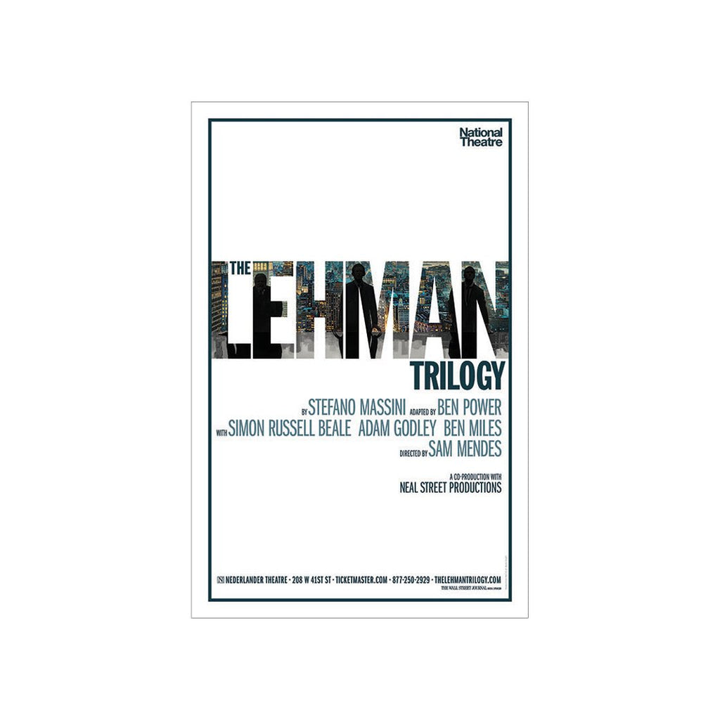 THE LEHMAN TRILOGY Windowcard