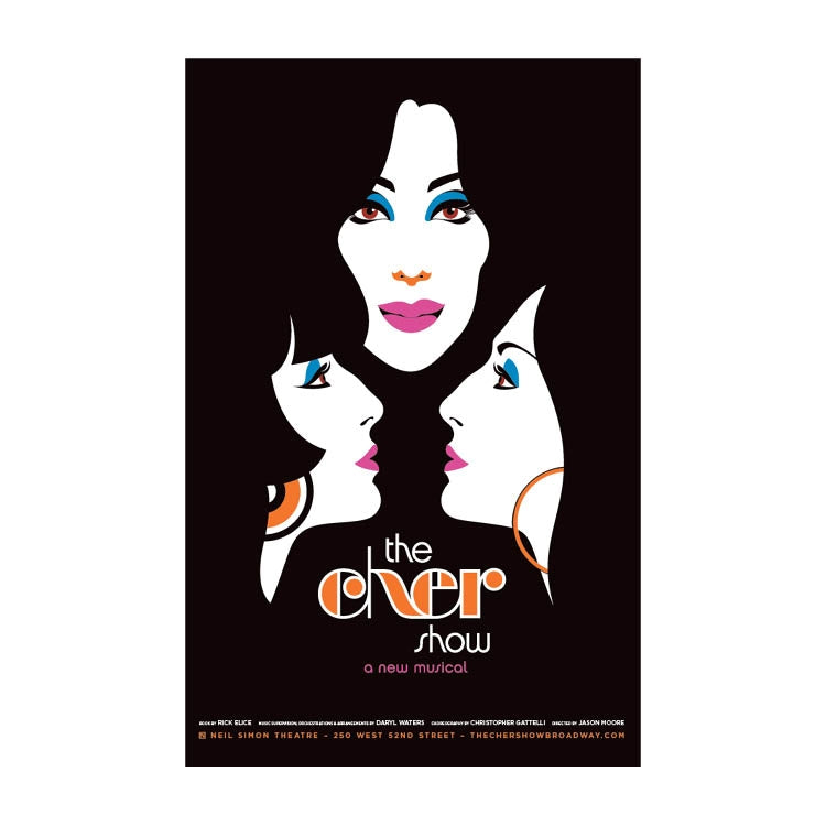 THE CHER SHOW Faces Windowcard Image