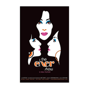 THE CHER SHOW Faces Windowcard