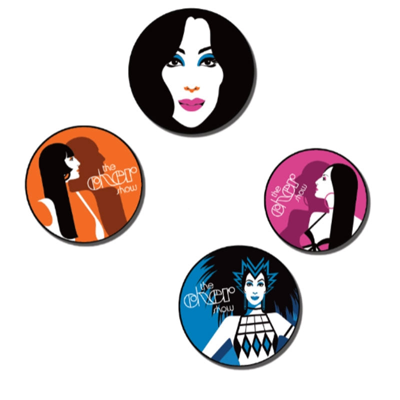 THE CHER SHOW Coaster Set