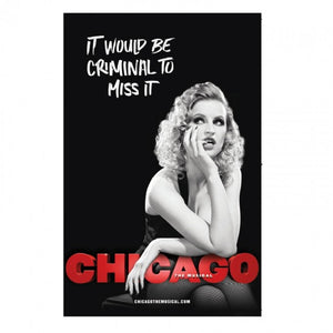 CHICAGO Windowcard