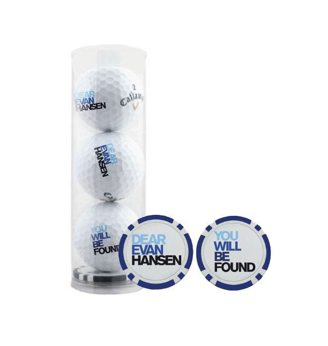 DEAR EVAN HANSEN Golf Balls