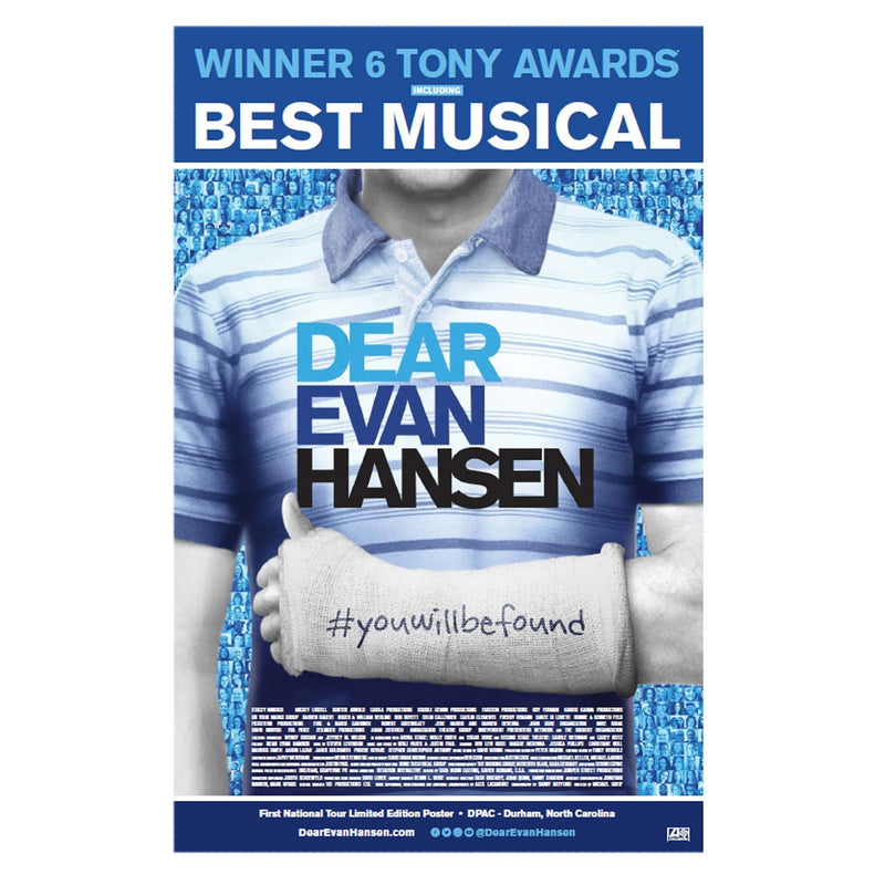 DEAR EVAN HANSEN Windowcard - Durham