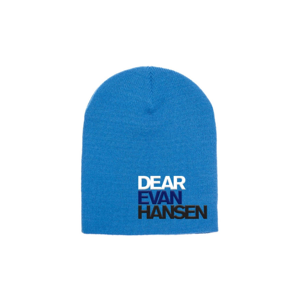 DEAR EVAN HANSEN Blue Knit Cap