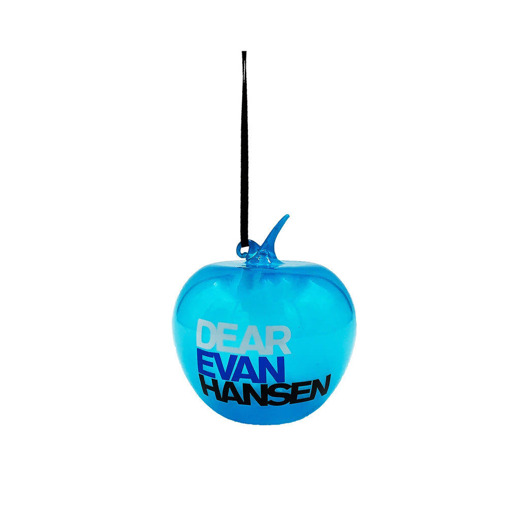 DEAR EVAN HANSEN Apple Glass Ornament