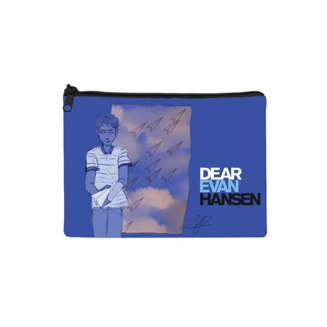 DEAR EVAN HANSEN Fan Art Canvas Pouch Image