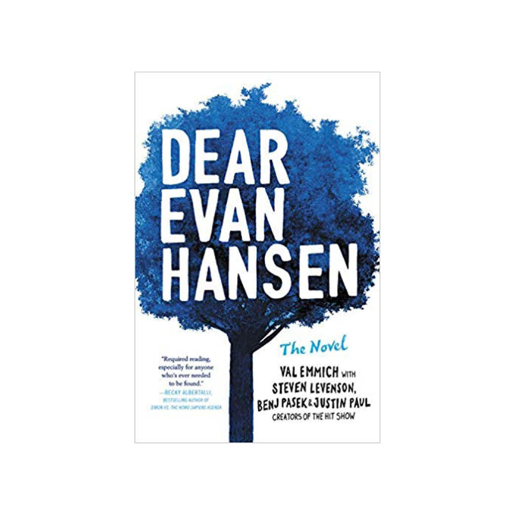 DEAR EVAN HANSEN Novel Image
