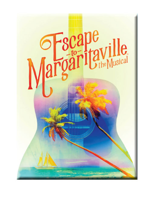 ESCAPE TO MARGARITAVILLE  Magnet