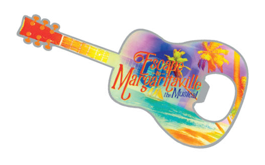ESCAPE TO MARGARITAVILLE Magnetic Bottle Opener