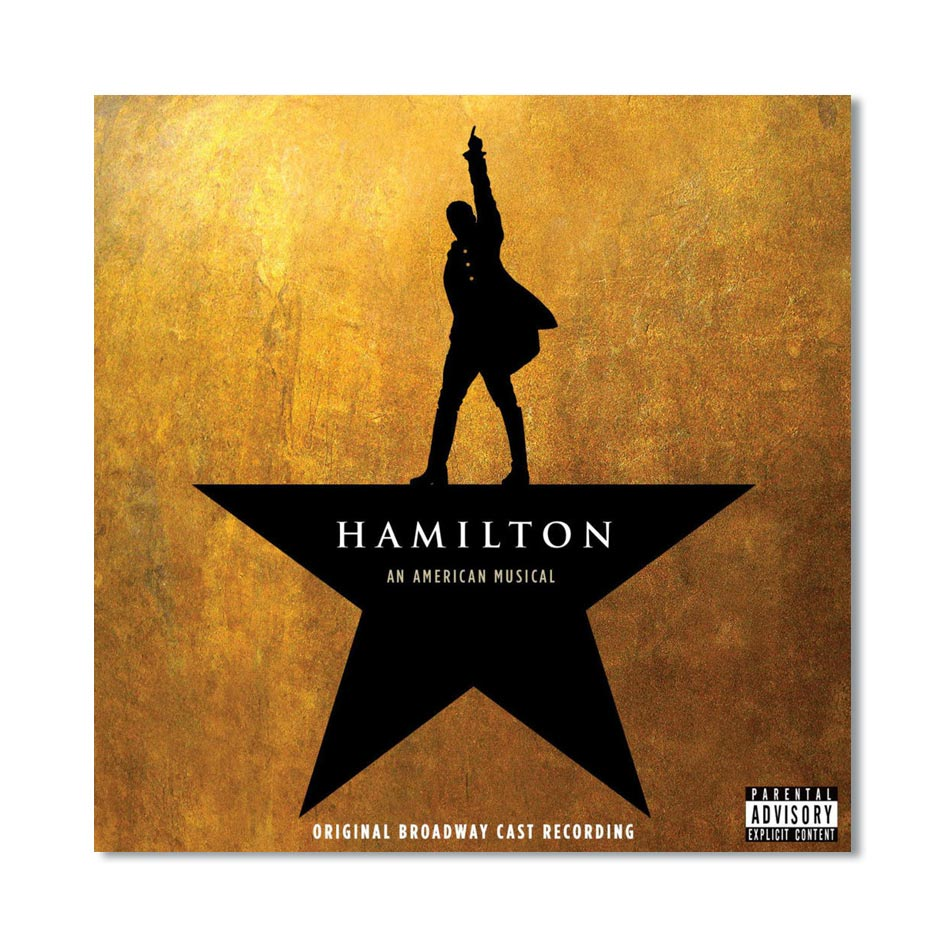 HAMILTON Broadway Cast CD Image