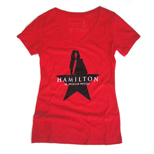 HAMILTON Star V-Neck T-Shirt