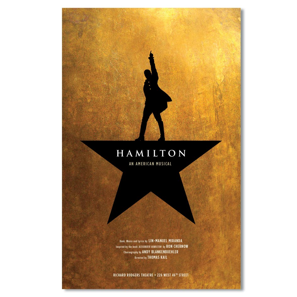 HAMILTON Windowcard New York Image