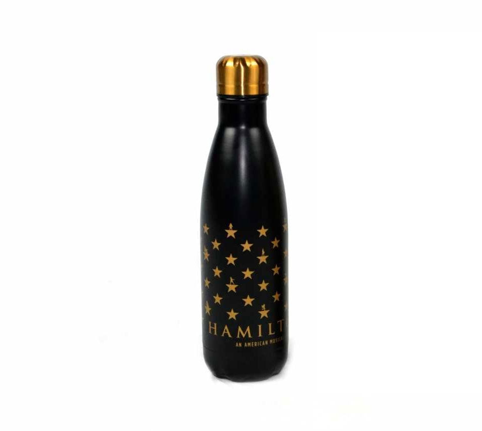 HAMILTON Star Grid Water Bottle Matte Black Image