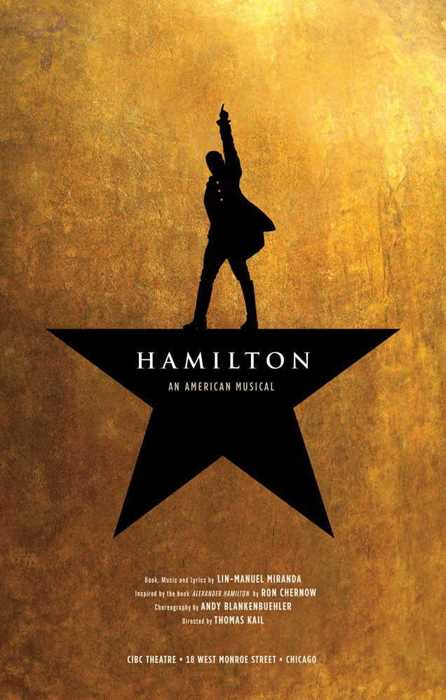 HAMILTON Windowcard Chicago